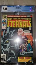 The Eternals Vol 1 Issue 1 (Origin; White Pages; CGC 7.0) by Comic Blink