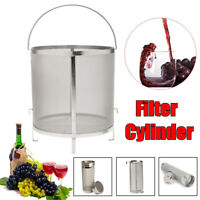 4 Sizes Stainless Steel Brewing Wine Beer Dry Hop Filter Cylinder Homebrew Kit