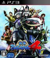 USED PS3 Sengoku Basara 4 PlayStation 3 CAPCOM 50715 JAPAN