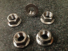 M10 x 1.25 x 5 STAINLESS STEEL SPROCKET NUTS Metric Fine Pitch HONDA
