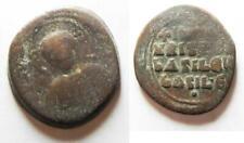 Zurqieh -as14358- Bust Of Christ: Byzantine Ae Follis