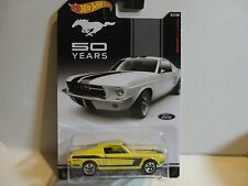 Hot Wheels Mustang 50 Years Yellow '67 Ford Mustang