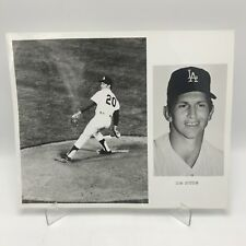 "DON SUTTON - Los Angeles Dodgers Baseball - 2 Photographs on 8"" x 10"" Page"