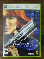 USED (Complete) - Perfect Dark Zero (Microsoft Xbox 360, 2005) - Free Shipping