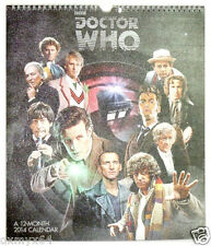 2014 Doctor Who Special Edition 12 Month Wall Calendar w Protective Envelope!