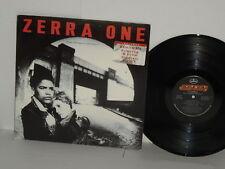 ZERRA ONE 1 The Domino Effect LP 1986 Promo Record lyrics Gavin Harrison Ireland