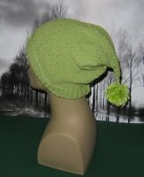 PRINTED KNITTING INSTRUCTIONS-MOSS ST PIXIE BOBBLE SLOUCH HAT KNITTING PATTERN