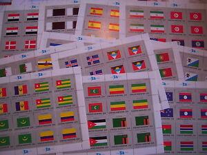 ONU/UNITED NATIONS BUREAU DE NEW YORK  BLOCS DRAPEAUX NEUF **