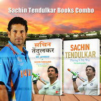 2 Combo Book Sachin Tendulkar Playing it My Way-Autobiography Hindi & English