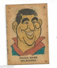 1968 Sun Valley Twisties Hassa MANN Melbourne (You Will Receive the reverse)