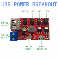 USB Power Breakout DC to DC Power Module Micro USB 5V to 1.8V/3.3V/5V/9V/12V L40