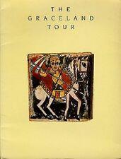 PAUL SIMON Graceland Tour Programme Book 20 pages 12x10 inches