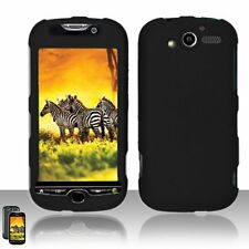 Hard Rubberized Case for HTC myTouch 4G - Black
