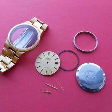 1973 Omega Geneve Parts case caseback dial hands bracelet 166.0173 mens watch
