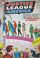 The Justice League of America DC Comics Silver Age 1963 #19 VG 4.5