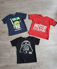 Lot de 3 t-shirt MAYORAL/STAR WARS 5ans