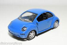 KINSMART VW VOLKSWAGEN BEETLE KAFER RSI BLUE VERY NEAR MINT