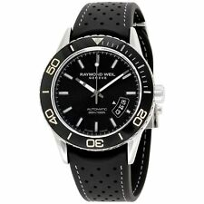 Raymond Weil  2760-TR1-20001 Men's Freelancer  Black Automatic Watch