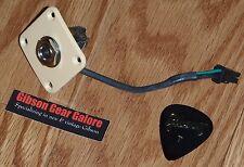 Gibson Les Paul Jack Input Creme Quick Connect Standard 1/4 Inch Guitar Parts HP
