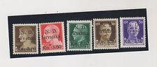 CROATIA,WW II,ITALY SIBENIK local issue set MNH ,certificat PERVAN