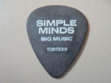 SIMPLE MINDS - big music - guitarpick - pick - plectrum - U2 - Depeche Mode