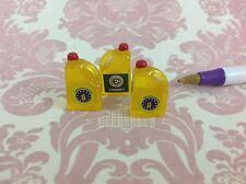 Dollhouse Miniature Kitchen/Home/Shop Food 3 Bottles of Oil 2cm Scale 1:12