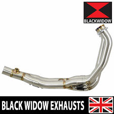 R6 YZF600 EXHAUST HEADERS FRONT DOWN PIPES DE CAT ELIMINATOR RACE PIPES 2017