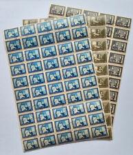 """030- BULGARIA 1955"""" lotto And Methodius Scott 897/99 150 valori"""" annullati"""