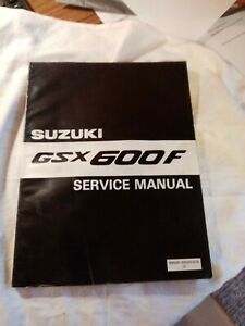 Suzuki Gsx Motorcycle Service Repair Manuals For Sale Ebay