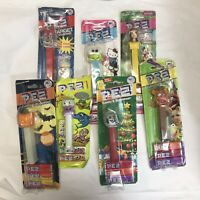 Vintage Pez Dispensers lot 7 Sealed NEW Disney Halloween Christmas Hello Kitty +
