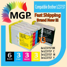 15 generic Ink Cartridge LC57 LC37 for Brother DCP 130C 135C 560CN 540CN MFC240C