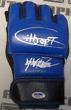 Gilbert Yvel Signed Pride FC MMA Glove PSA/DNA COA UFC Autograph 34 16 14 11 10