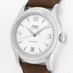 ORIS ARTELIER 7544 CHRONOMETER AUTOMATIK Kal.637 SAPPHIRE SWISS MADE UHR + BOX