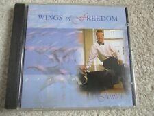 MUSIC CD - JONAS KVARNSTROM - WINGS OF FREEDOM - 11 TRACKS -1994