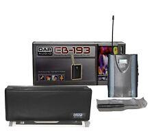DAP-Audio EB-193 PLL 139freq 822-846MHz mikrofon transmitter Belt-pack Funk