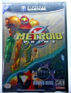 Nintendo Metroid Prime Game with Bonus Metroid Prime 2 Demo Game
