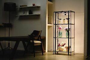 3 Tier Portable Mini Greenhouse, Indoor Growlight Plant Cabinet Sezam XL Bamboo