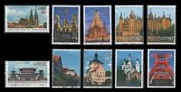 Japan 3301a-j   150th Anniv Japan-Germany Diplomatic' Complete Set of 10 USED