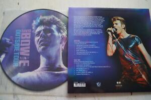 David Bowie...picture LP...OUTSIDE TOUR LIVE 1995 + poster
