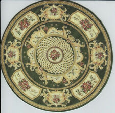 1:12 Scale Dollhouse Area Rug Round - 0001350 - approximately  5""