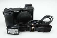 Sony Alpha a6100 24.2MP Mirrorless Camera Body - Shutter Count 5553