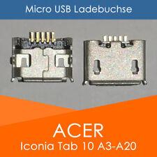 Acer Iconia Tab 10 A3-A20 B1-810 B3-A10 Micro USB Buchse Ladebuchse Strombuchse