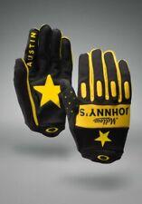 New Oakley Factory Glove Mellow Johnnys Black/Yellow Medium 94099-018 RARE