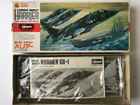 Vintage Hasegawa Model Kit 1/72 scale Hawker Siddeley Harrier STOL Fighter (96