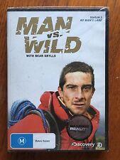 Man Vs Wild: Season 3 DVD Region 4 New & Sealed