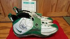 1998 GREEN BAY PACKERS Game Worn Football Shoes #55 Bernardo Harris signed