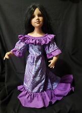 VINTAGE HAWAIIAN Doll Duck House Porcelain Doll