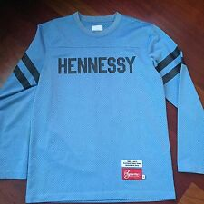 Supreme Hennessy Jersey Blue Size Medium M long Sleeve