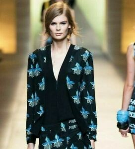 FENDI NAVY BLUE JACKET (Fendi Spring 2015 Ready-to-Wear)