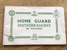 More details for home guard southern railway - booklet ww2